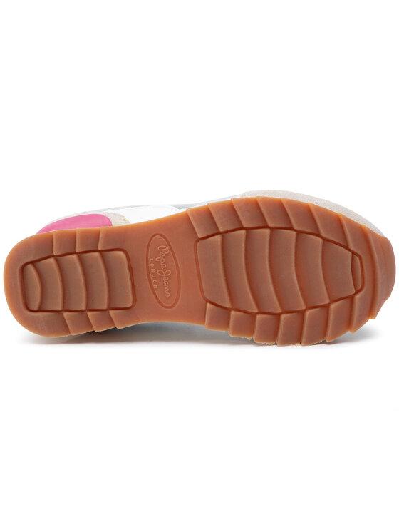 Pepe Jeans Pepe Jeans Sneakers Belle Metal PGS30389 Silberfarben