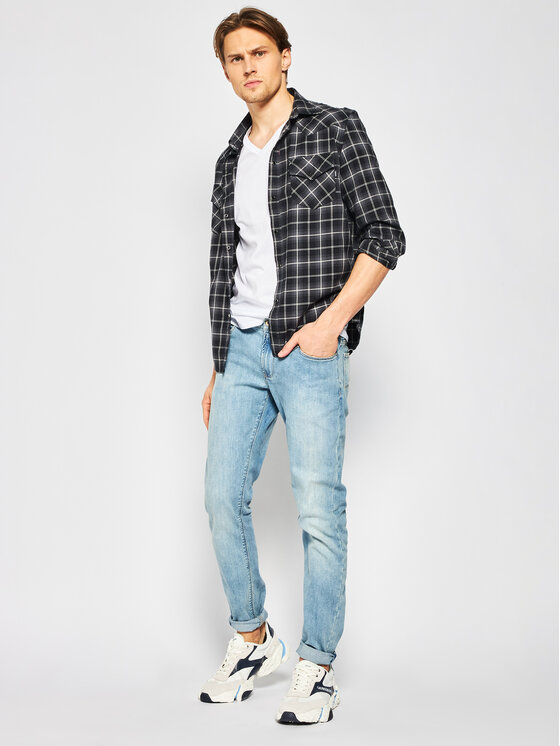 Lacoste Lacoste 3-dílná sada T-shirts TH3444 Bílá Regular Fit