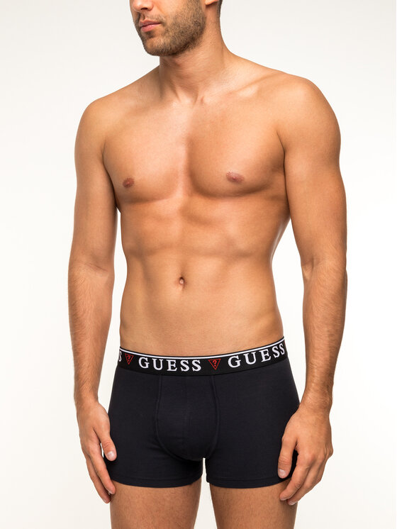 Guess Guess Boxerek U97F01 JR003 Fekete