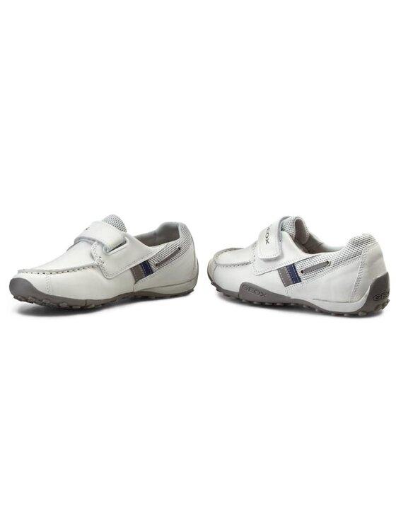 Geox Geox Chaussures basses J Snake Moc A J5216A 04314 C0284 Blanc