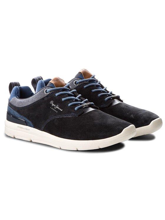 Pepe Jeans Pepe Jeans Sneakersy Jayden 2.1 PMS30409 Granatowy