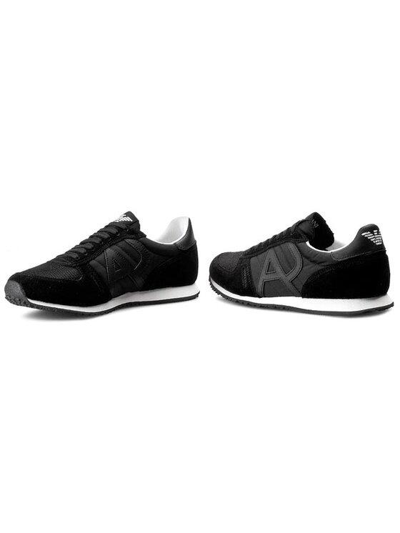 Armani Jeans Armani Jeans Sneakersy A6524 26 12 Czarny