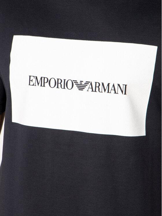 Emporio Armani Emporio Armani Тишърт 3H1TD0 1J30Z 0924 Тъмносин Regular Fit
