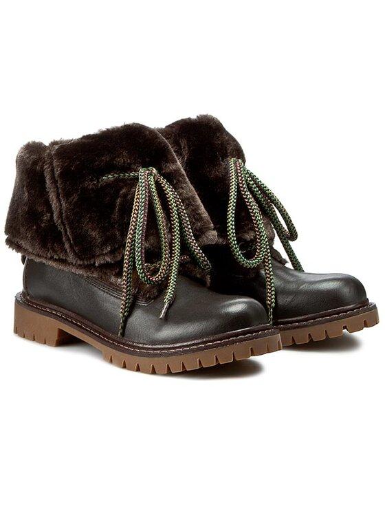 Liu Jo Liu Jo Stiefeletten Boy Boots Charline S65065 P0055 Braun