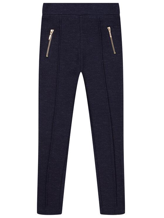 Primigi Primigi Текстилни панталони Glam Winter 44122831 Тъмносин Regular Fit