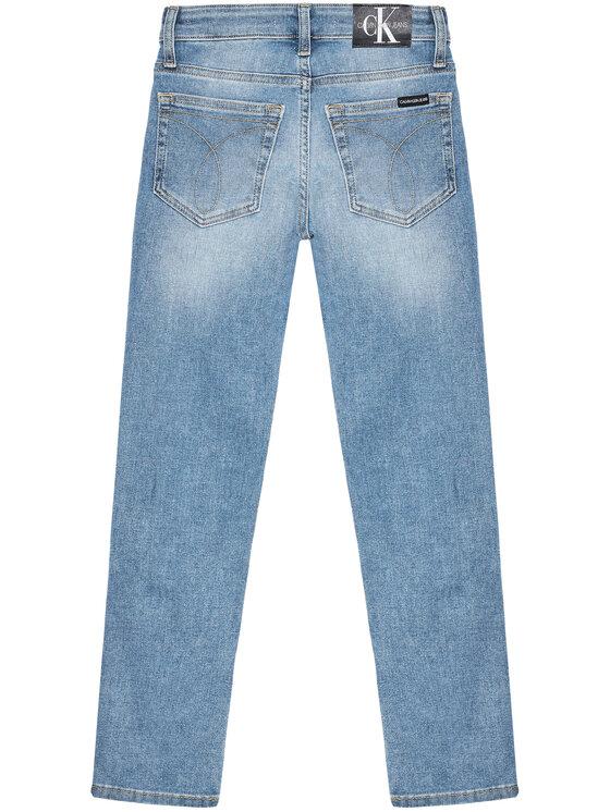 Calvin Klein Jeans Calvin Klein Jeans Blugi Essential IB0IB00742 Albastru Slim Fit