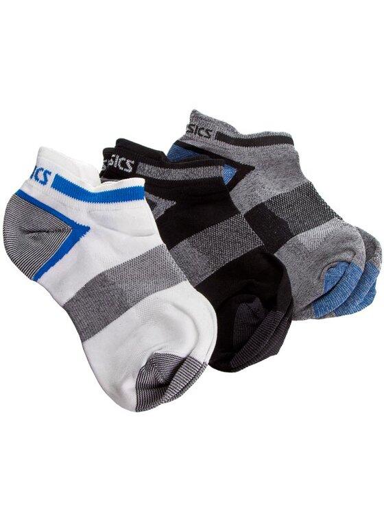 Asics Asics Σετ 3 ζευγάρια κοντές κάλτσες unisex 3PPK Lyte Sock 123458 Λευκό