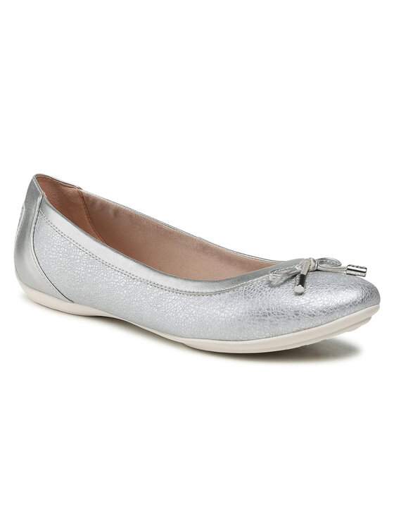 Balerini dama Geox D Charlene B D02Y7B 0PVNF C1007 argintii