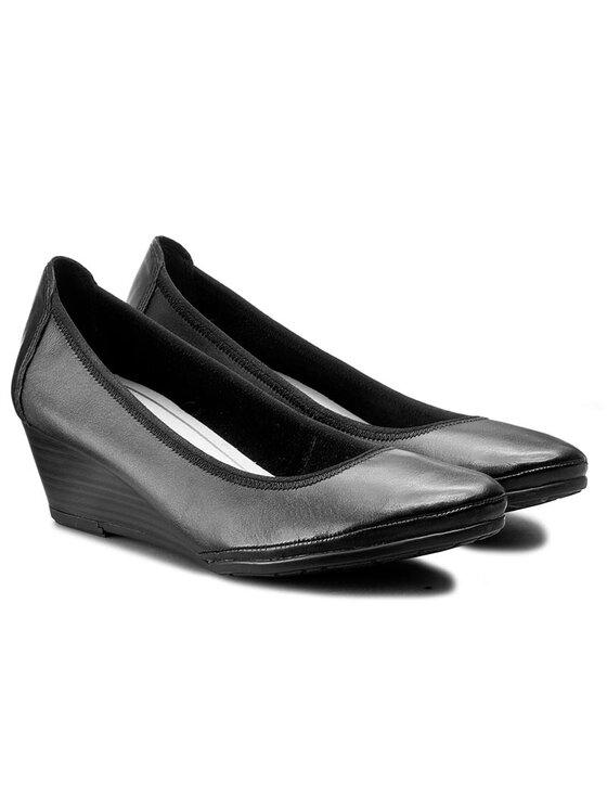 Marco Tozzi Marco Tozzi Обувки 2-22300-28 Черен