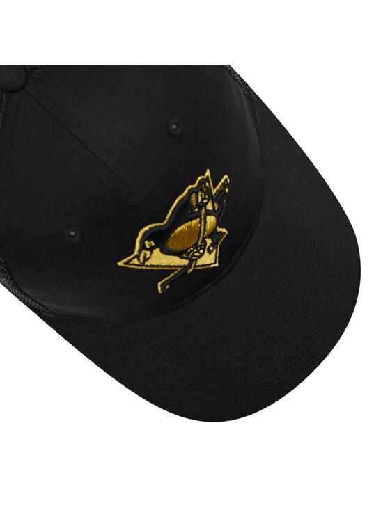 47 Brand 47 Brand Czapka z daszkiem Brand NHL Pittsburgh H-BRMTL15CTP-BK Czarny