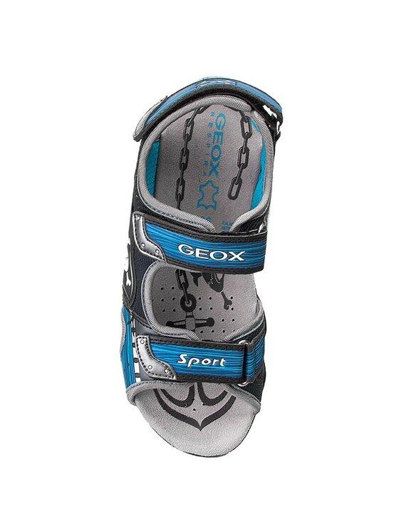 Geox Geox Sandále J Sand. Strike D J5224D 014CE C0040 Modrá