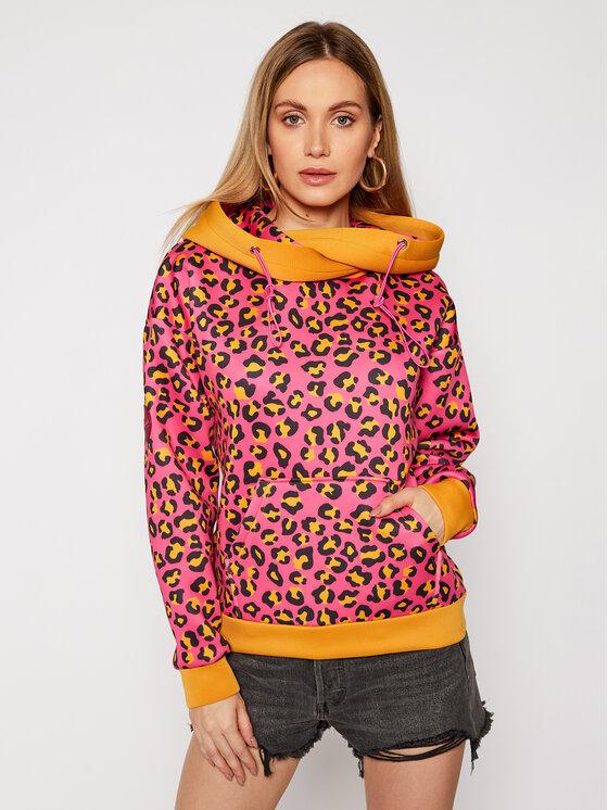 Waikiki Vibe Džemperis Sand Panther Rožinė Regular Fit