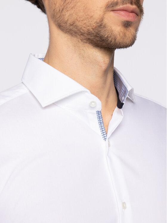 Hugo Hugo Koszula Kery 50425930 Biały Slim Fit