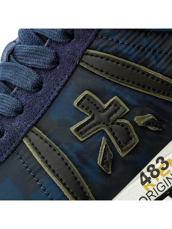 Premiata Premiata Sneakersy Lucy 2460 Tmavomodrá