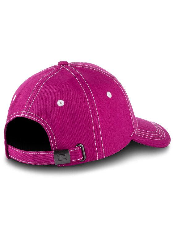 Tommy Hilfiger Tommy Hilfiger Καπέλο Jockey Bb Cap AW0AW06573 Ροζ