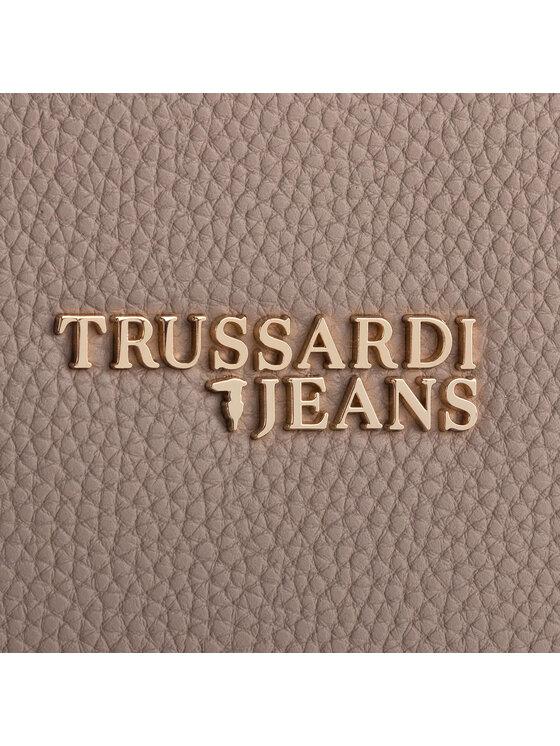 Trussardi Trussardi Jeans Torebka Charlotte Shopper 75B00829 Beżowy