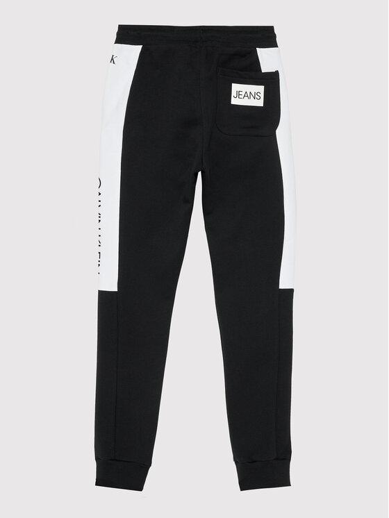 Calvin Klein Jeans Calvin Klein Jeans Dres Clr Block IB0IB00952 Czarny Regular Fit