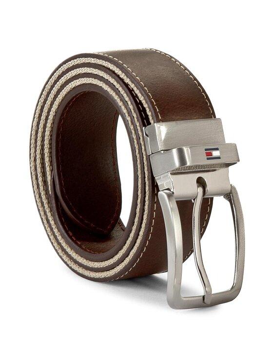 TOMMY HILFIGER TOMMY HILFIGER Curea pentru Bărbați Th Stripe Belt 3.5 Rev AM0AM00873 85