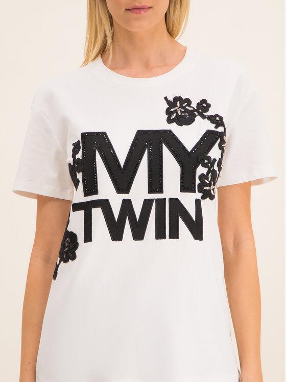 My Twin My Twin Tričko 201MP235H Biela Regular Fit