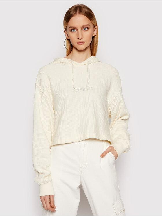 DC Džemperis Old School ADJKT03008 Smėlio Overshirt Fit