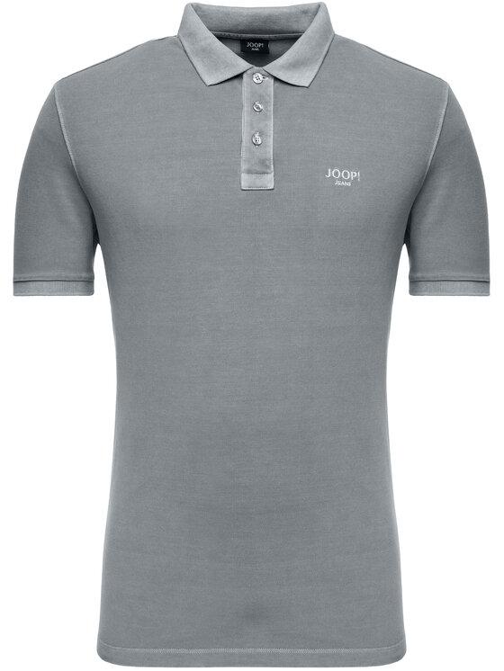 Joop! Jeans Joop! Jeans Polo marškinėliai 30016355 Pilka Slim Fit