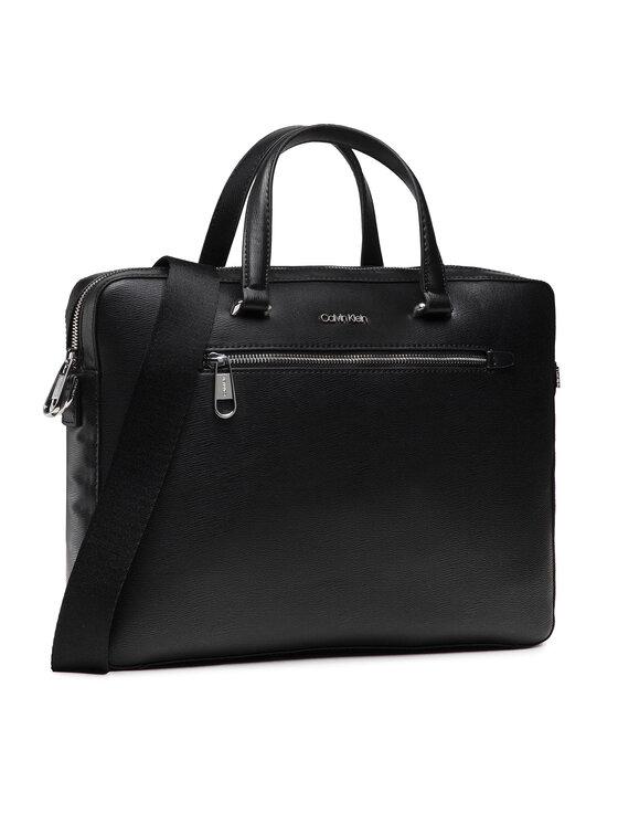 Calvin Klein Calvin Klein Torba na laptopa Minimalism Slim Laptop Bag K50K507330 Czarny