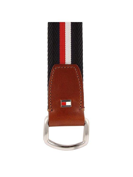 Tommy Hilfiger TOMMY HILFIGER Pánský pásek Corporate Webbing Belt 3.5 AM0AM02219 90
