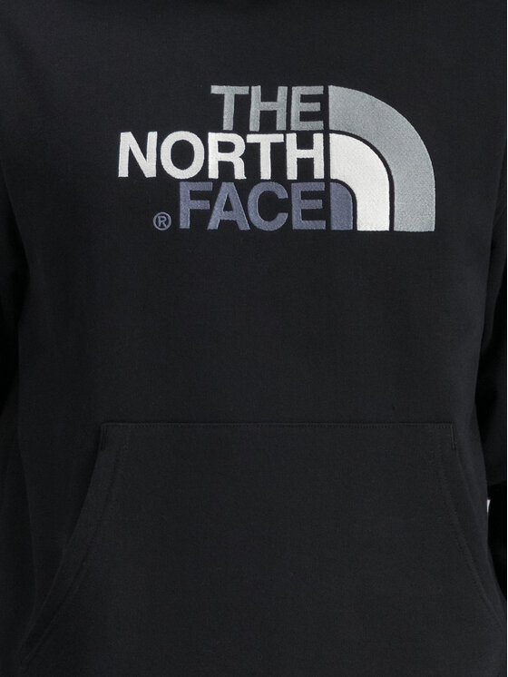 The North Face The North Face Bluza Drew Peak NF00AHJYKX7 Czarny Regular Fit
