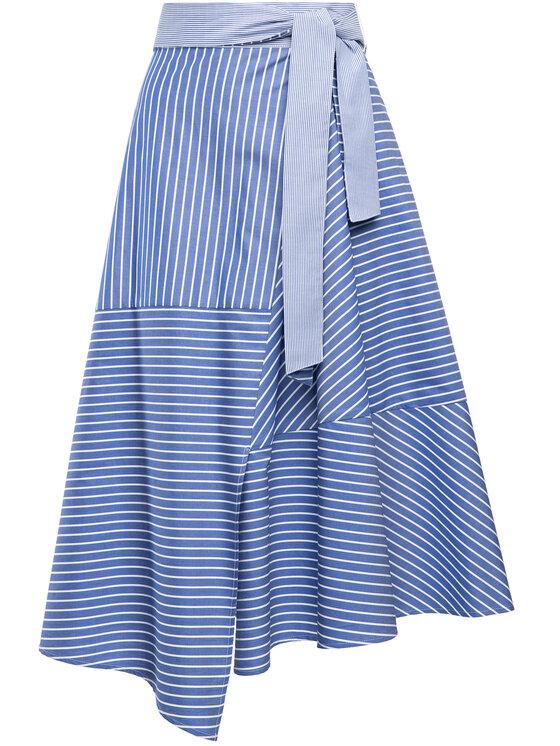Marella Marella Trapézová sukňa 31010495 Modrá Regular Fit