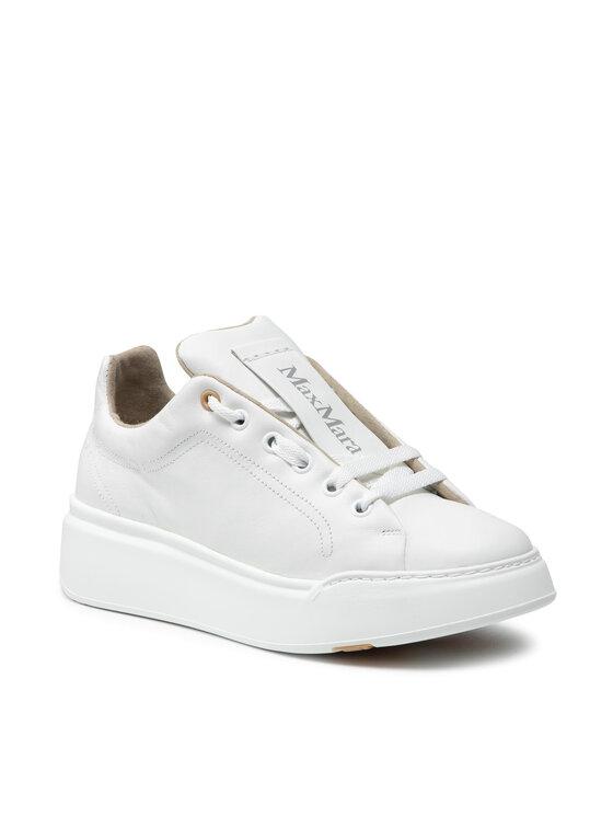 Max Mara Laisvalaikio batai Maxiv 47660917600 Balta