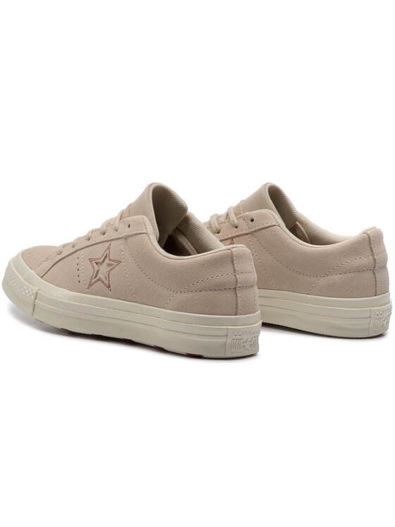 Converse Converse Sneakers aus Stoff One Star Ox 163189C Beige