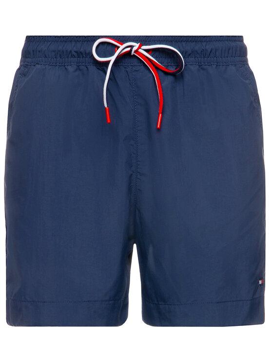 TOMMY HILFIGER TOMMY HILFIGER Short de bain Medium Drawstring UM0UM01710 Bleu marine Regular Fit