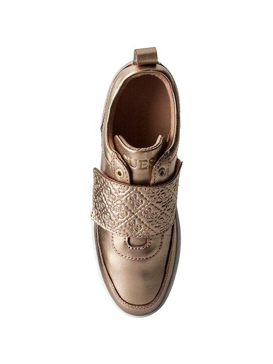 Guess Guess Sneakers Flo FLFLO3 LEM12 Goldfarben