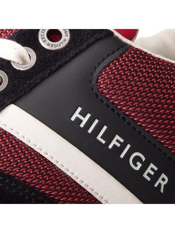 TOMMY HILFIGER TOMMY HILFIGER Сникърси New Iconic Sporty Runner FM0FM01655 Червен