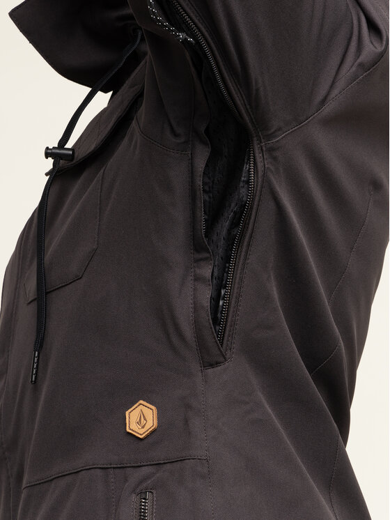Volcom Volcom Snowboardjacke Shadow Ins H0451913 Schwarz Long Eqs Fit