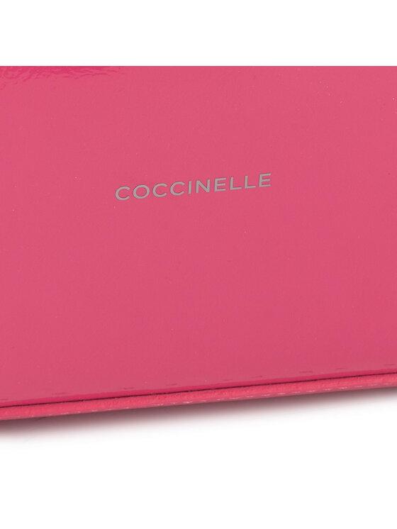 Coccinelle Coccinelle Torebka EO1 Delta Naplack E1 EO1 11 01 01 Różowy