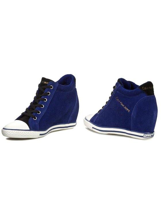 Calvin Klein Jeans Calvin Klein Jeans Sneakers Venice Suede RE9018 Blu