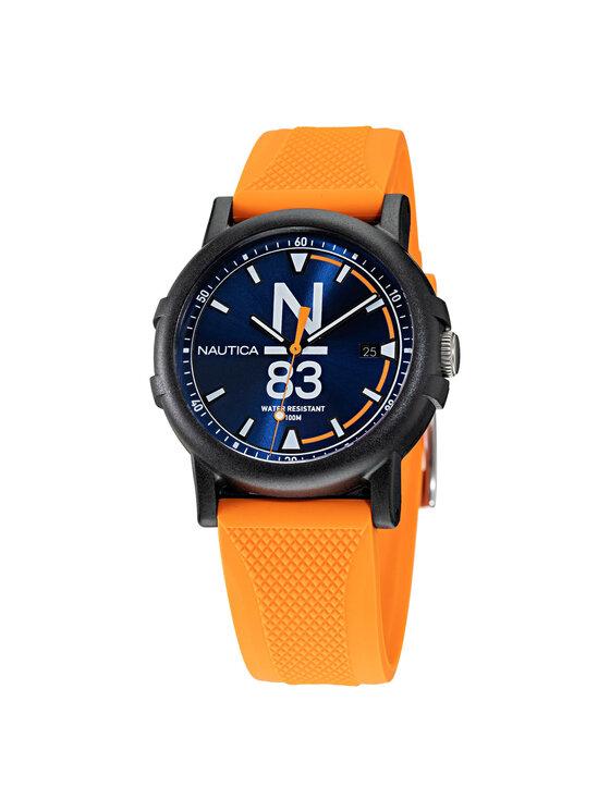 Nautica Laikrodis N83 Es Pujols NAPEPS103 Oranžinė