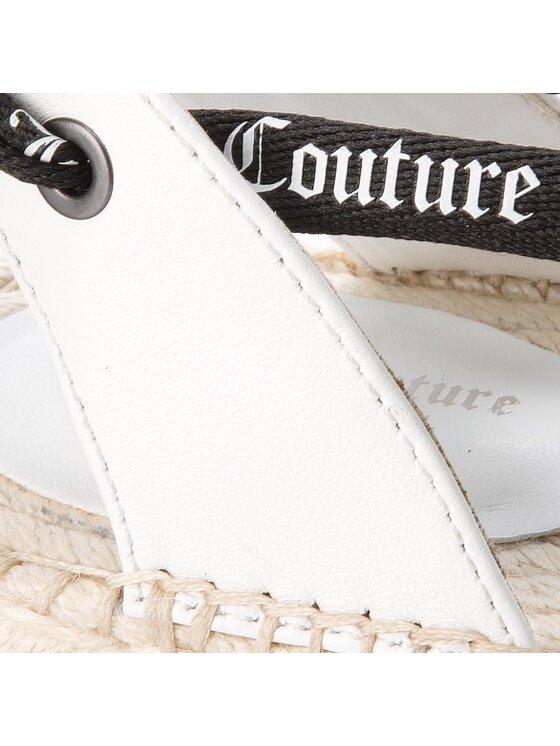 Juicy Couture Black Label Juicy Couture Black Label Espadrillas Fay JB178 Bianco