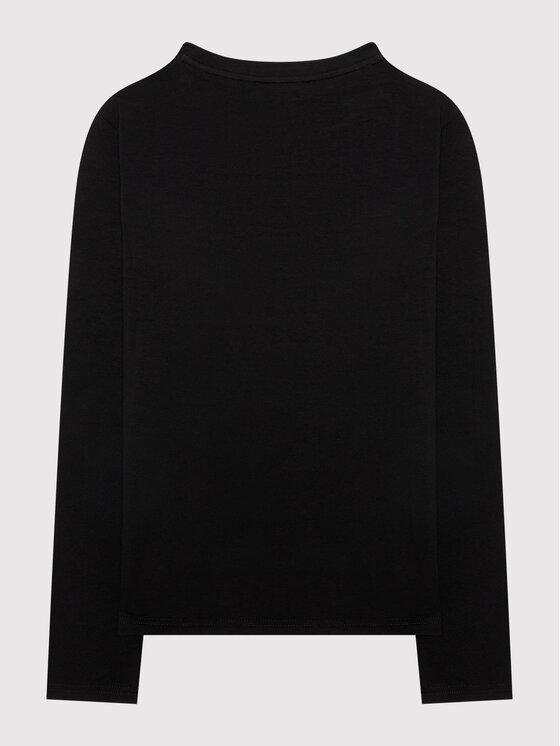 DKNY DKNY Majica D35R57 D Crna Regular Fit