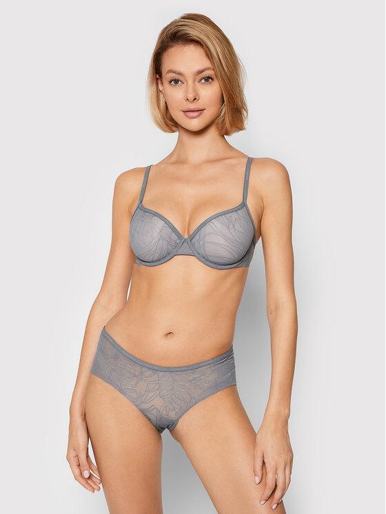 Calvin Klein Underwear Calvin Klein Underwear Figi klasyczne 000QF5245E Szary