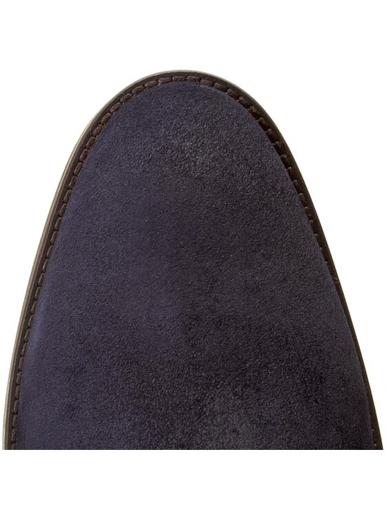 Tommy Hilfiger Tommy Hilfiger Členková obuv s elastickým prvkom Dalton 18B FM56819470 Tmavomodrá