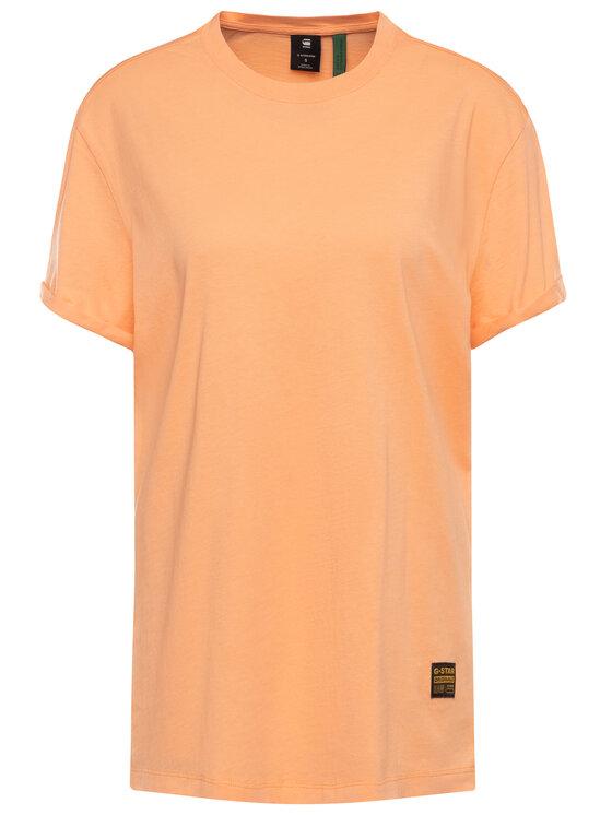 G-Star Raw G-Star Raw Tričko Lash Fem Wmn D16902-4107-B454 Oranžová Loose Fit
