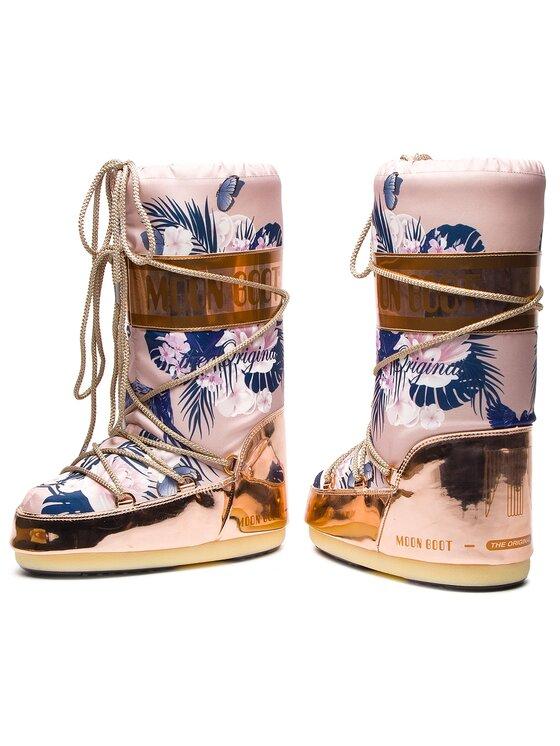 Moon Boot Moon Boot Śniegowce Tropical Mirror 14024600001 Różowy