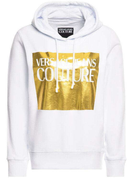 Versace Jeans Couture Versace Jeans Couture Sweatshirt B6HVA71T Weiß Regular Fit