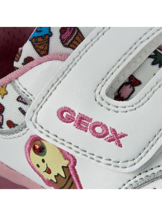 Geox Geox Chaussures basses B Todo G.D B6285D 0BCAW C0653 Blanc