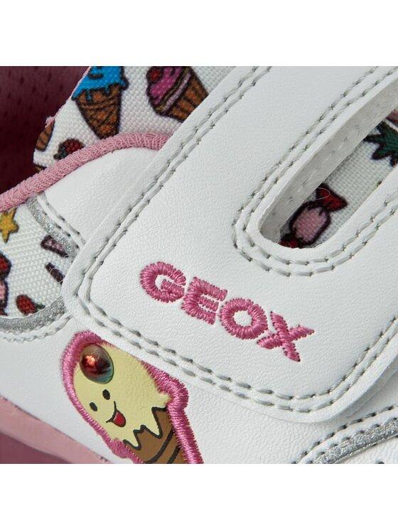 Geox Geox Poltopánky B Todo G.D B6285D 0BCAW C0653 Biela