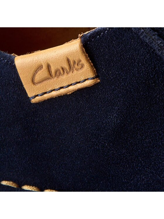 Clarks Clarks Polobotky Funny Dream 261237534 Tmavomodrá
