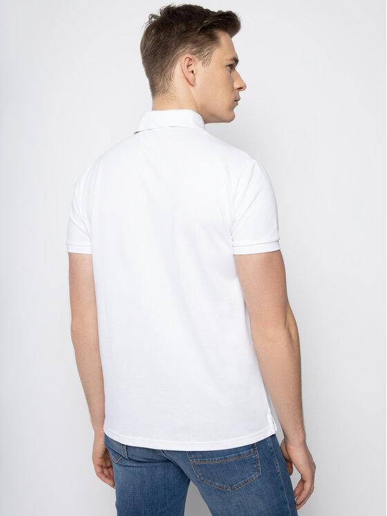 Trussardi Jeans Trussardi Jeans Polohemd 52T00321 Weiß Regular Fit