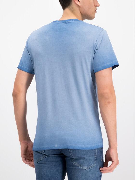 Pepe Jeans Pepe Jeans T-Shirt West Sir PM504032 Niebieski Regular Fit